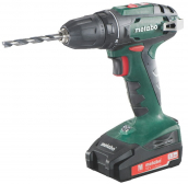 Akutrell BS 18, 10 mm padruniga / 2x1,3 Ah, Metabo
